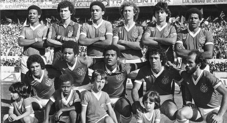 Internacional tricampeão brasileiro marcou época na história do futebol nacional