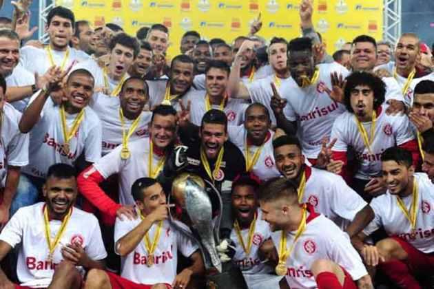Internacional, do Rio Grande do Sul - 45 títulos