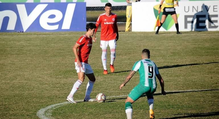 Internacional perde para o Juventude na partida de ida das semis do Gaúchão