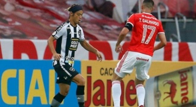 Botafogo perdeu mais uma no Brasileiro