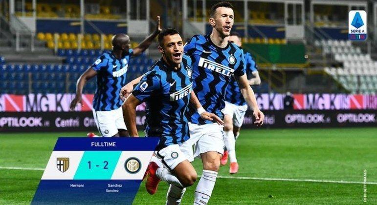 Sánchez, o destaque inesperado da Inter em Parma