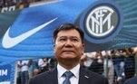 9º Inter de Milão (Itália) - Zhang Jindong - 7,4 bilhõesde dólares (R$ 40,7 bilhões)