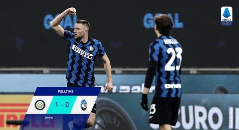 A Inter, agora, seis pontos de folga na tabela