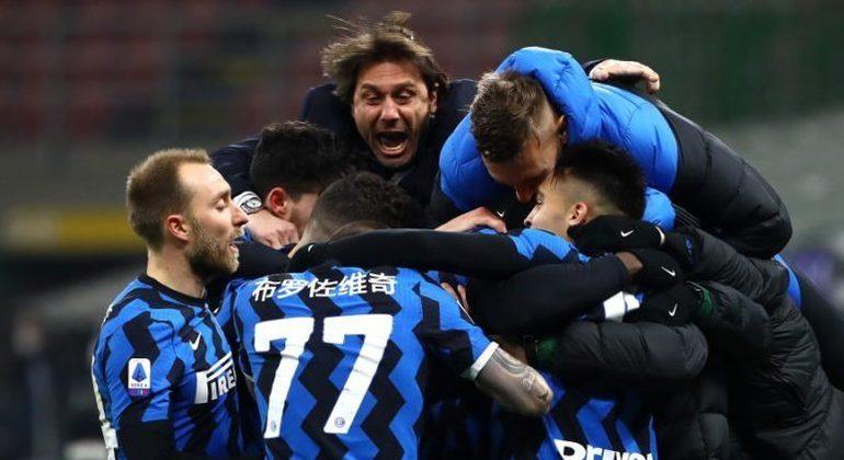 A festa da Inter campeã
