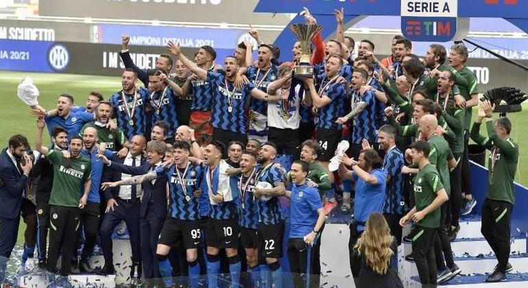 Internazionale, a campeã de 2021/22