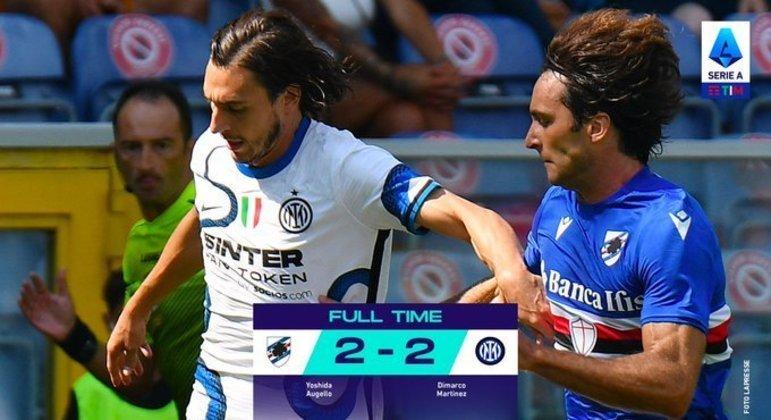 Inter, não ganhou o seu combate, e perdeu a liderança