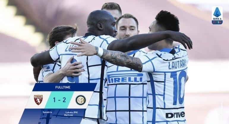 A Inter, o oitavo triunfo consecutivo