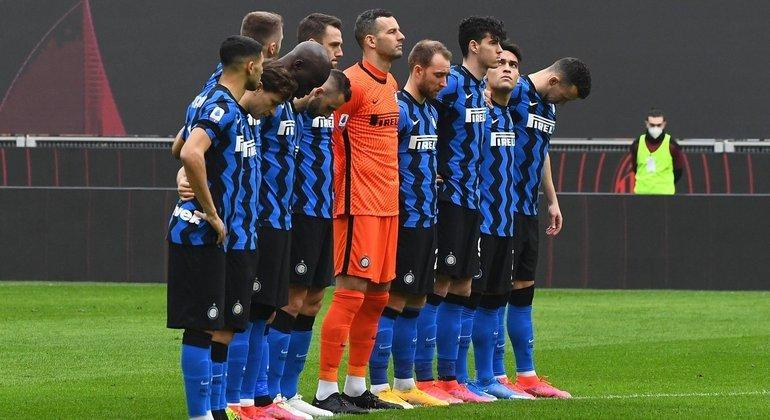 """A Inter que abriu quatro pontos à frente do Milan no """"Nazionale"""""""