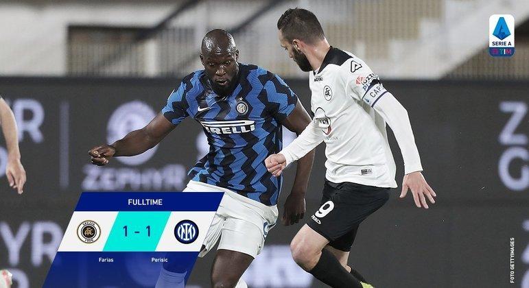 Lukaku, da Inter, ainda dez pontos de folga, e só 18 a se disputarem no certame