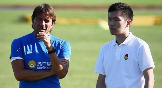 Antonio Conte e Zhang, da Internazionale