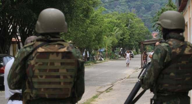 Foram registrados 5.857 tiroteios na Região Metropolitana