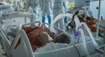 Remédios são usados para intubar pacientes