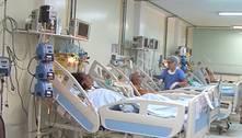 Dois terços dos pacientes com covid-19 internados em UTI morrem