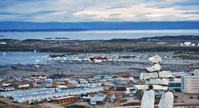 O isolamento natural de Nunavut é provavelmente parte da razão para a falta de casos