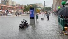 Nova York é inundada enquanto espera chegada de tempestade Elsa