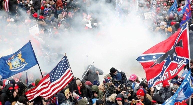 Invasão do Congresso por parte de apoiadores de Trump será investigada