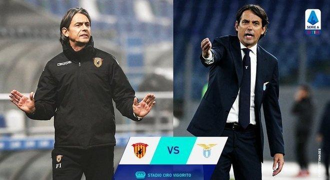 Filippo e Simone, os Inzaghi do Benevento e da Lazio