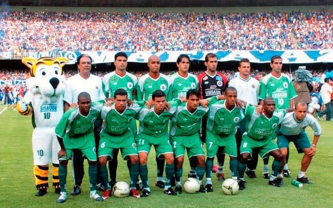 Ipatinga - Fundado em 1998, o clube foi campeão mineiro em 2005 e semifinalista da Copa do Brasil em 2006. Ainda chegou a disputar a Série A do Brasileiro em 2008.