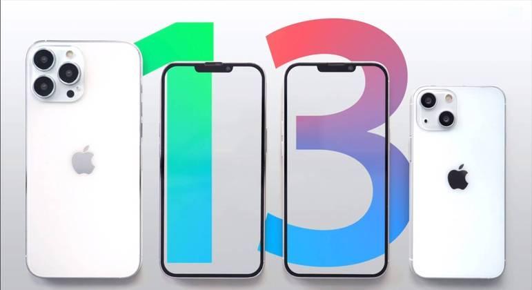 iPhone 13 deve ser lançado em novas cores e diferentes modelos