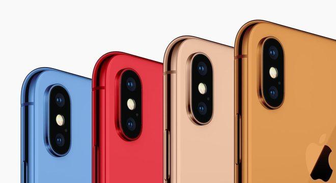 Iphones coloridos podem ser uma das novidades da Apple para 2018