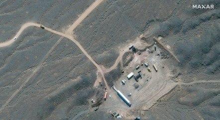 Na imagem, instalação nuclear de Natanz (Irã)