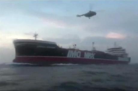 Retenção da embarcação gerou uma crise diplomática