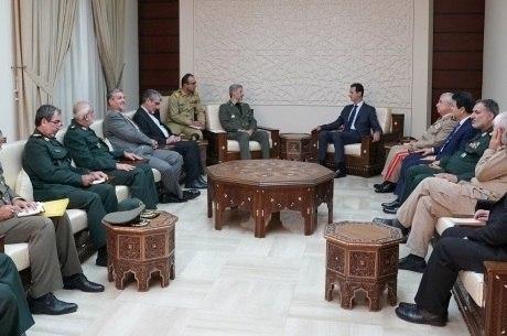 Assad se reuniu com Ministro da Defesa iraniano