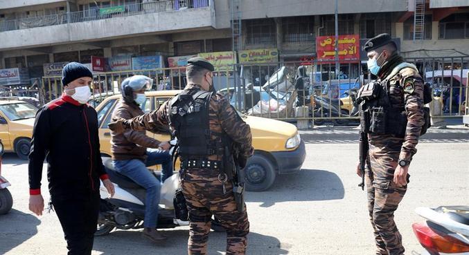 Bagdá reforçou o policiamento depois que os foguetes foram disparados