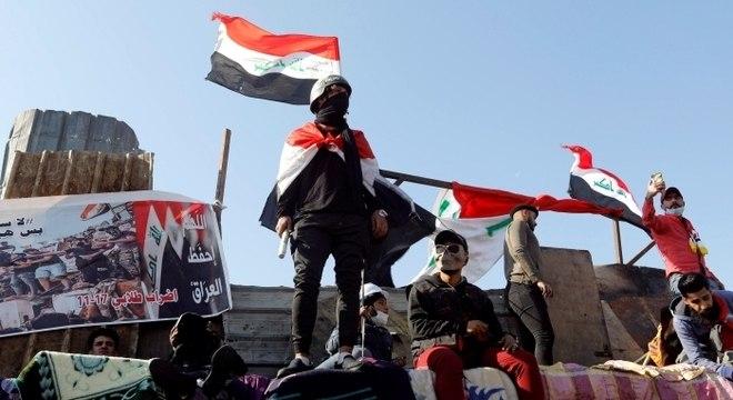 Protestos no Iraque já duram quatro meses