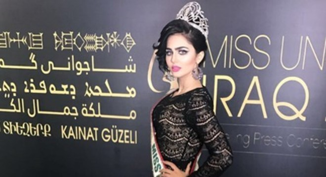Miss Iraque 2015, Shimaa Qasim fugiu para a Jordânia após receber ameaças