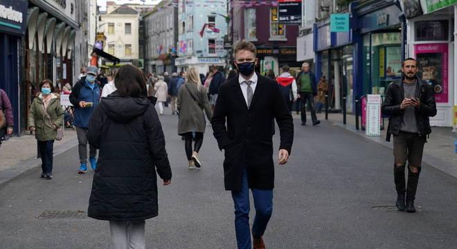 Irlanda teve colapso no sistema de rastreamento de casos