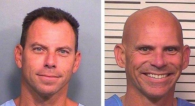 Erik Menendez (à esq) e Lyle Menendez mataram os pais com tiros de espingarda