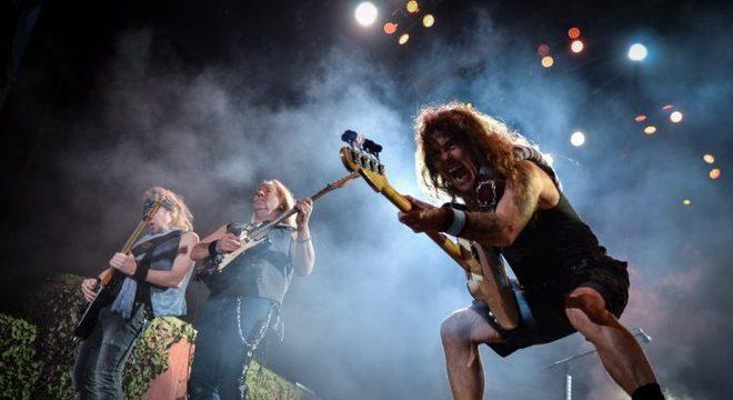Iron Maiden já teria finalizado seu novo disco de estúdio