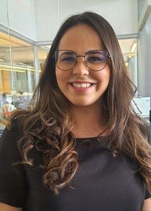 Isabely Moraes, narradora esportiva da Band