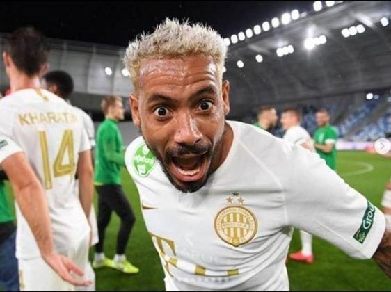 Isael - Ferencváros (Hungria) - Atacante - 33 anos - Contrato até:  30/06/2021