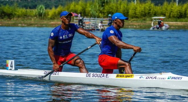 Dupla é uma das esperanças de medalha no Brasil, na Olimpíada de Tóquio
