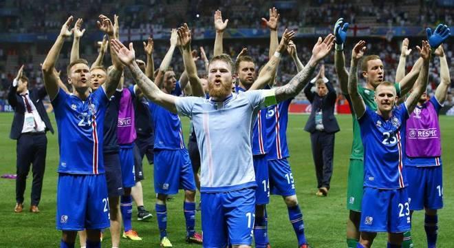 Depois da vitória sobre a Inglaterra, em 2016