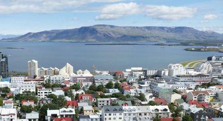 Islândia tem pouco mais de 370 mil habitantes