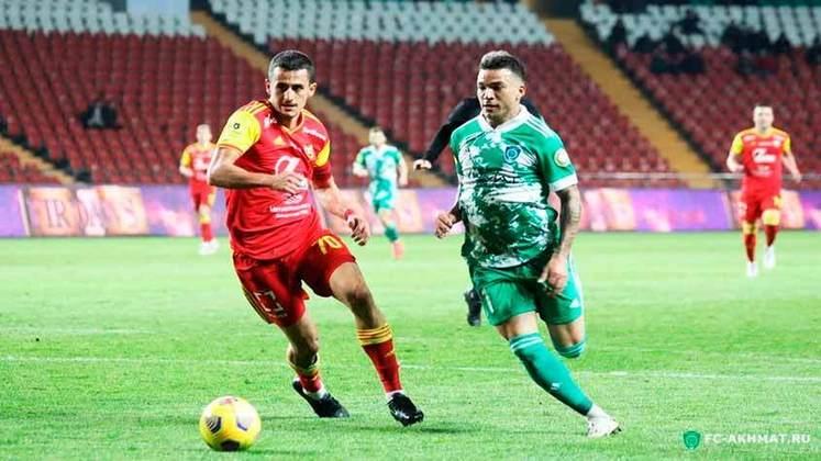 Ismael Silva - 26 anos - Meia -  Último clube: Akhmat Grozny - Sem clube desde: 01/07/2021