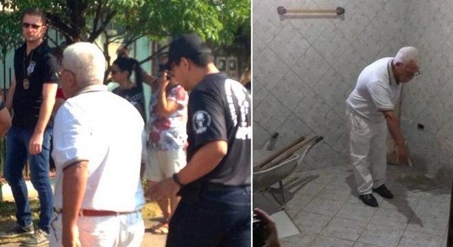 Idoso apontou para a polícia local onde enterrou companheira