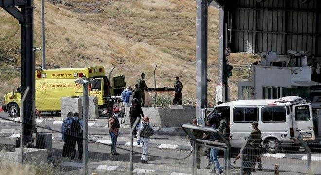 Ataque aconteceu em um posto de fronteira próximo a Jerusalém