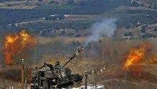 Após disparos de foguetes do Hezbollah, Israel ataca o Líbano