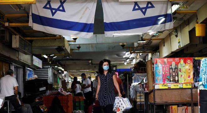 Israel teve uma das maiores taxas de contágio do mundo em setembro