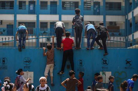 Míssil atingiu escola da ONU em Gaza