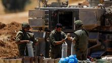 Israel envia tropas à divisa com Gaza para possível operação terrestre