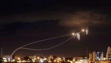 Israel bombardeia Gaza após lançamento de foguetes pelo Hamas