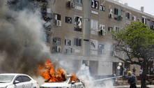 Israel confirma 2 mortes em ataques com foguetes