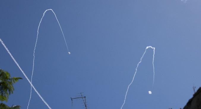 Israel conseguiu interceptar um dos disparos vindos do Líbano