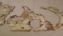 Israel revela manuscrito bíblico de 2.000 anos de antiguidade