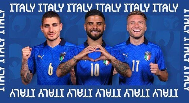 "Itália, a ""Azzurra"""